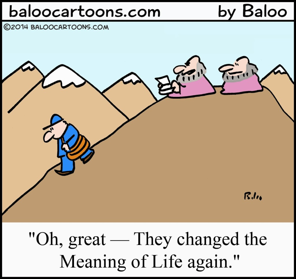 Changing the Meaning of Life